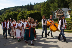 Ceremonial opening of springs in Luhačovice (source: luhacovice.cz)