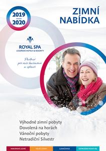 Obálka zimního katalogu
