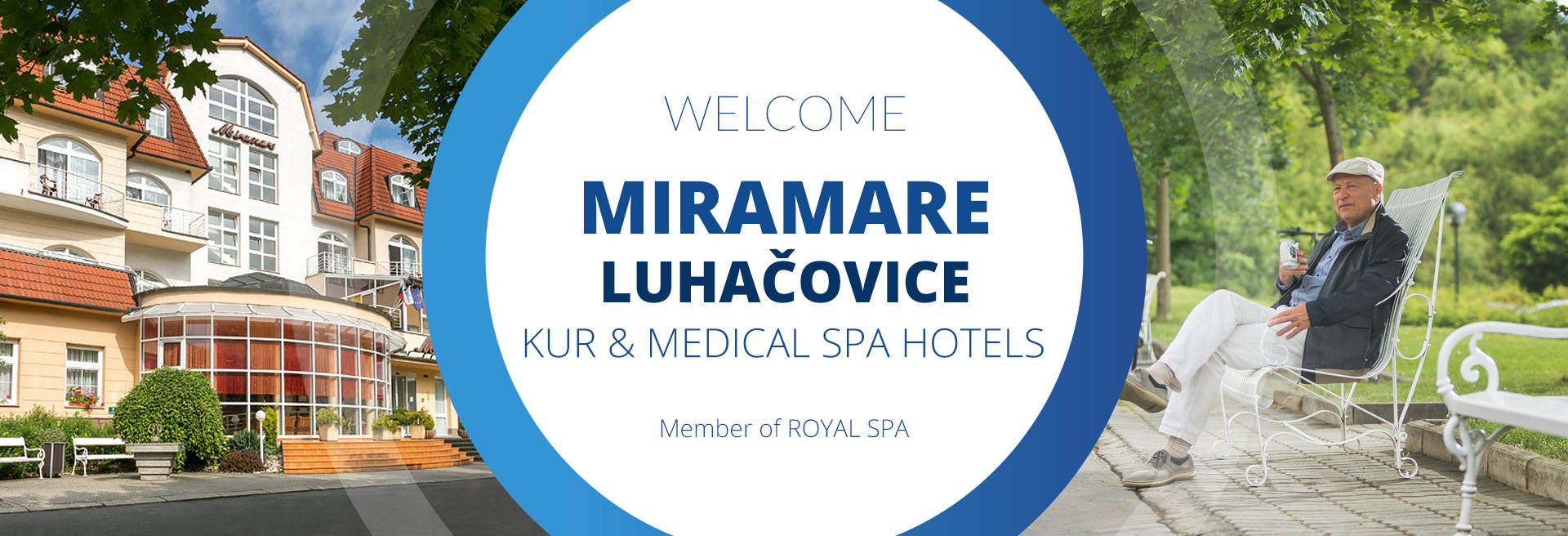 Offer of accommodation in Luhačovice Spa MIRAMARE
